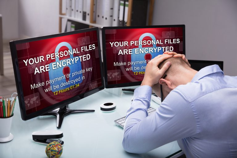 Man Upset After Ransomware Attack