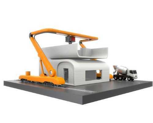 Construction 3D Printer