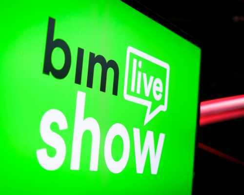 Green Sign With BIM Message
