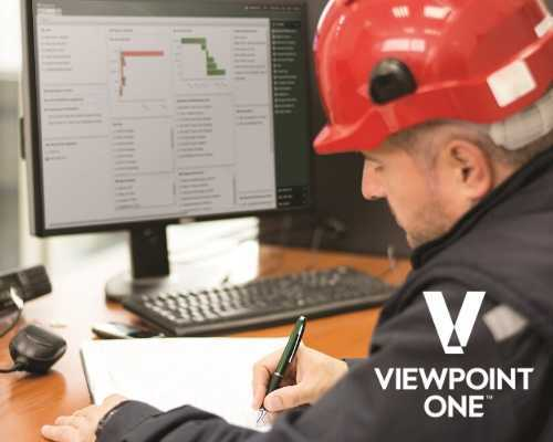 Construction Worker Using ViewpointOne