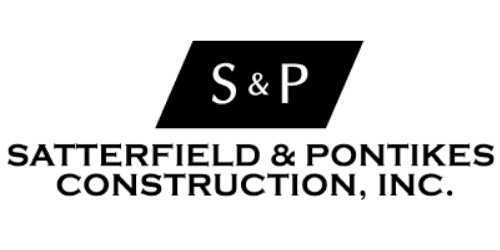 Satterfield & Pontikes Construction Logo