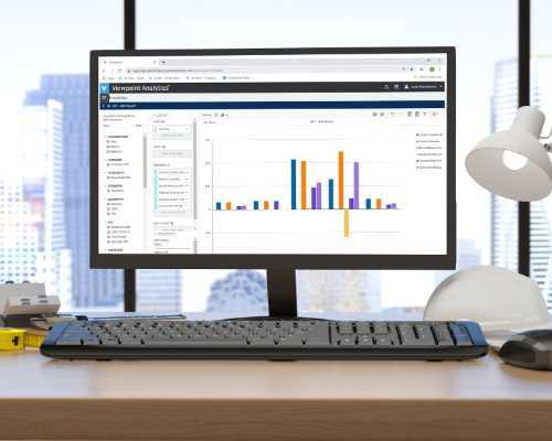 Viewpoint Analytics Being Used on a Computer