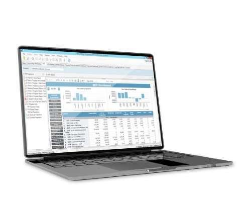 Screenshot of ViewpointOne Construction Software