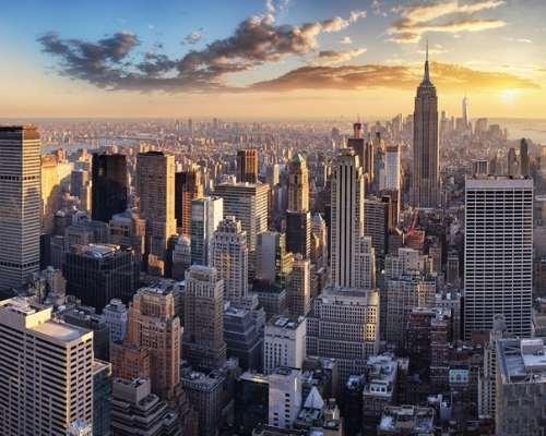 New York skyline - infrastructure spending package
