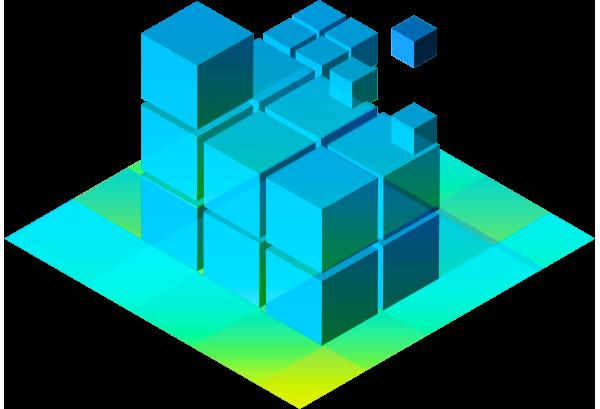 Isometrics Cubes 600Px